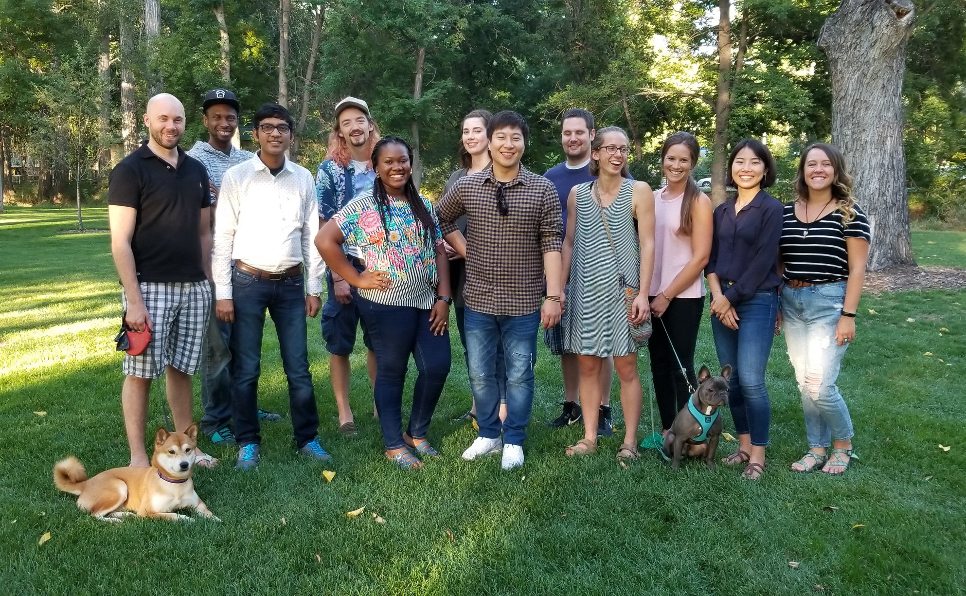 2018 First Year Graduate Students